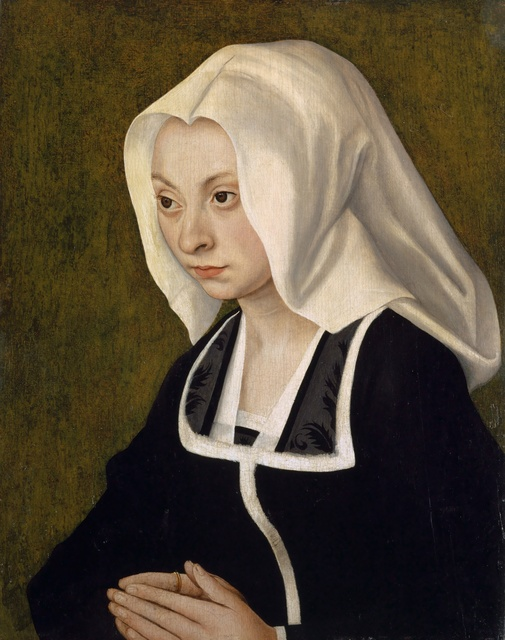, 'Bust-length Portrait of a Donor,' 1508, Kunstmuseum Basel