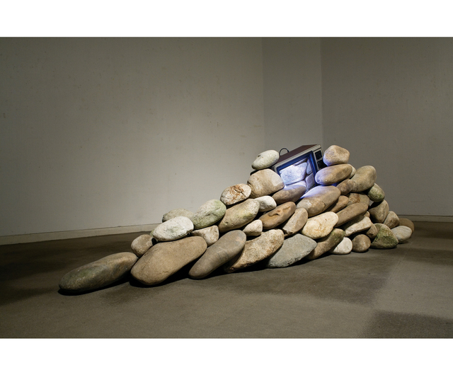 , 'TV & Stone,' 1978, Gallery Hyundai