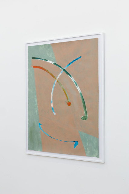 Nate Heiges, 'Alexithymia', 2016, Painting, Graphite, gouache, and gesso on paper, Nina Johnson