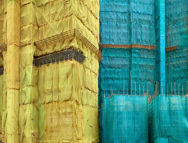 , 'Yellow-Teal Cocoon, Hong Kong - 2013,' 2013, Contemporary by Angela Li