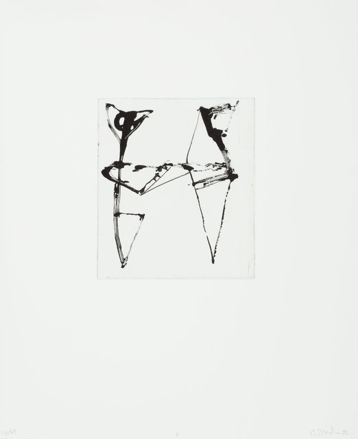 Brice Marden, 'Etchings to Rexroth, 11', 1986, Heritage Auctions