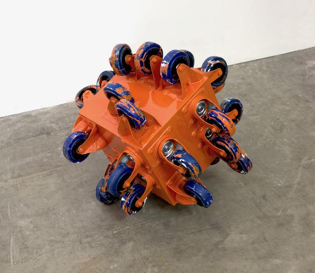 John Beech, 'Rolling Platform Berlin #2 (Orange)', 2019, Daniel Marzona