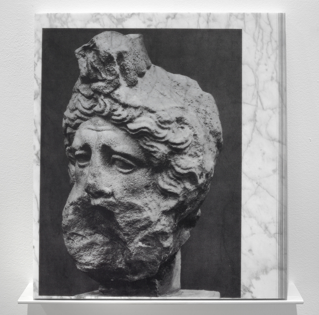 , 'Head of Priam,' 2014, Inman Gallery