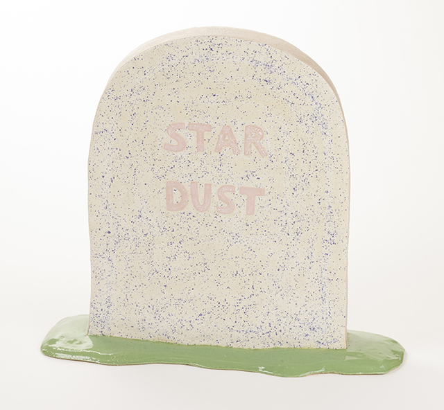 , 'Stardust Tombstone,' 2017, Ochi Projects