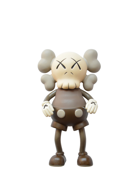 KAWS, 'Companion (Brown)', 1999, Sculpture, Painted cast vinyl, DIGARD AUCTION