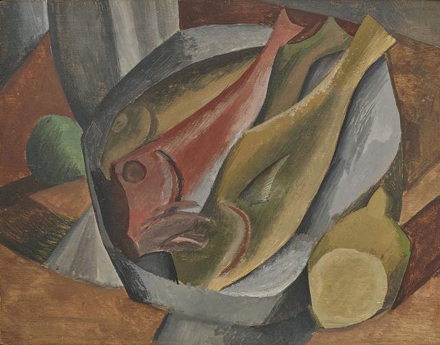 Nature Morte aux Poissons P Picasso Print