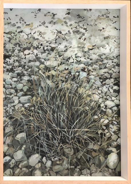 Isabella Kuijers, 'Riverbed, Greyton', 2019, Painting, Acrylic on glass, 99 Loop Gallery