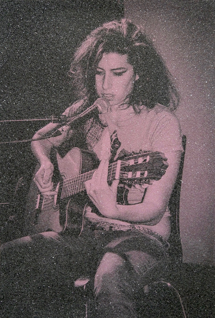 David Studwell, 'Amy Winehouse IV', 2017-2019, Print, Screen print with hand embellished diamond dust, Tanya Baxter Contemporary
