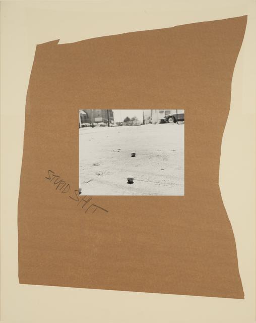 , 'Stupid Shit,' 1989, Casemore Kirkeby