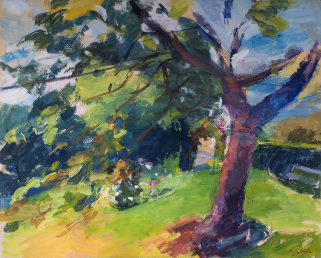, 'The Cherry Tree,' 2019, Valley House Gallery & Sculpture Garden