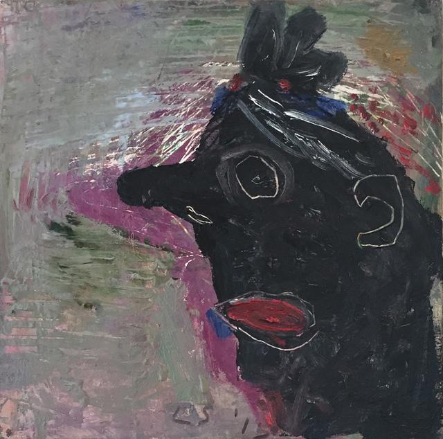 , 'Black Face,' 2015, Transmission Gallery