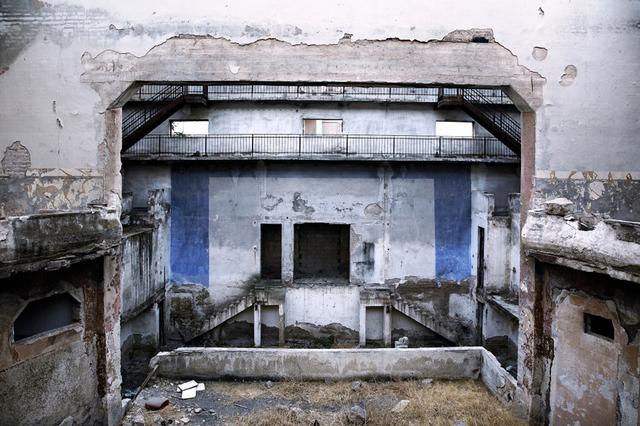 , 'Elizabeth Theatre I, Tracks series , Tiberias.,' 2009, Galerie Cécile Fakhoury - Abidjan