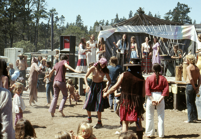 , 'The Albion Peoples Faire, May,' 1975, Benrubi Gallery
