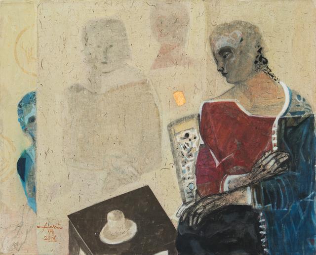 , 'Alone 1,' 2016, al markhiya gallery