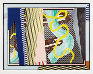 Roy Lichtenstein, 'Reflections on Brushstrokes, from the Reflection Series,' 1990, Phillips: Evening and Day Editions (October 2016)
