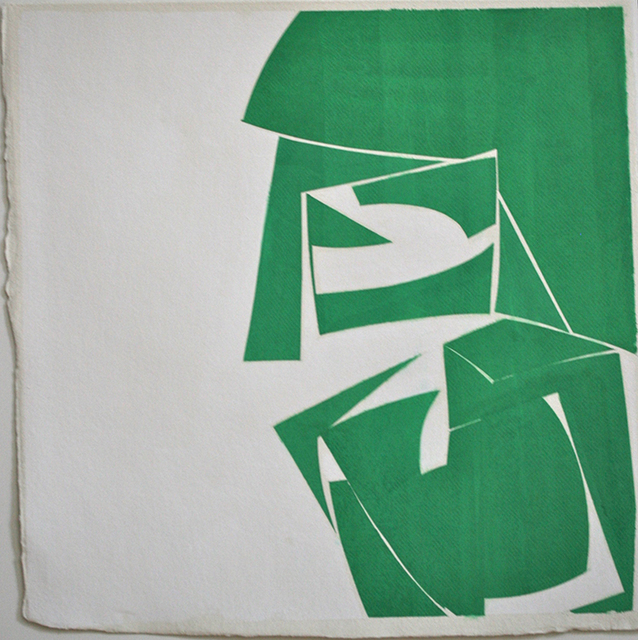 , 'Covers 18-Green (A),' 2015, Kathryn Markel Fine Arts