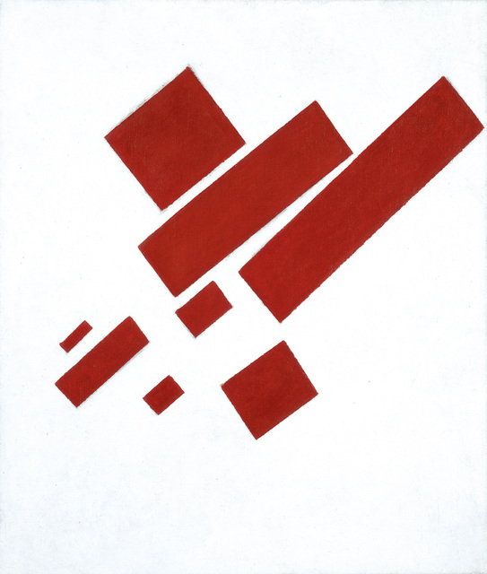 , 'Suprematist Composition (with Eight Red Rectangles),' 1915, Fondation Beyeler