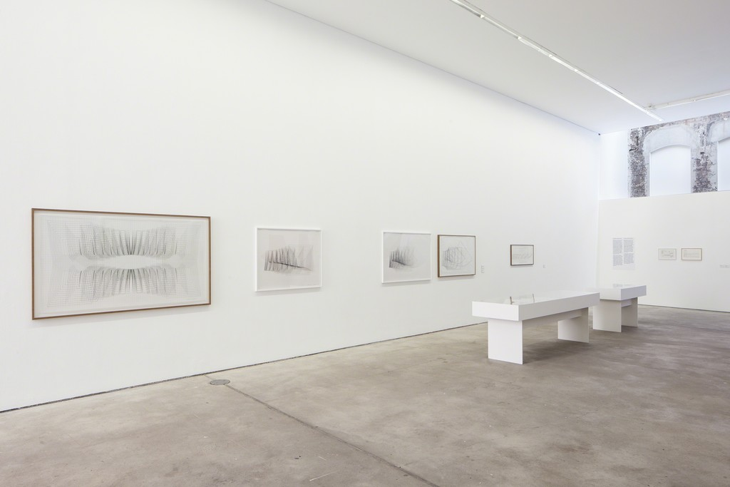 Photo: Timo Ohler. Works courtesy of: Collection Hundertmark and Birkholz; Collection Marshall Davis, Los Angeles; Collection Ellen Davis, Los Angeles; No Collection, Berlin; Estate Channa Horwitz and François Ghebaly Gallery, Los Angeles.