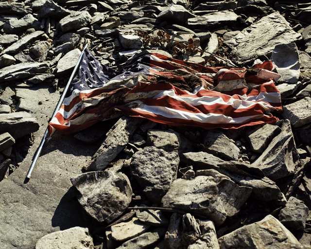 , 'American Flag, Plattsburgh, NY,' , The Print Atelier