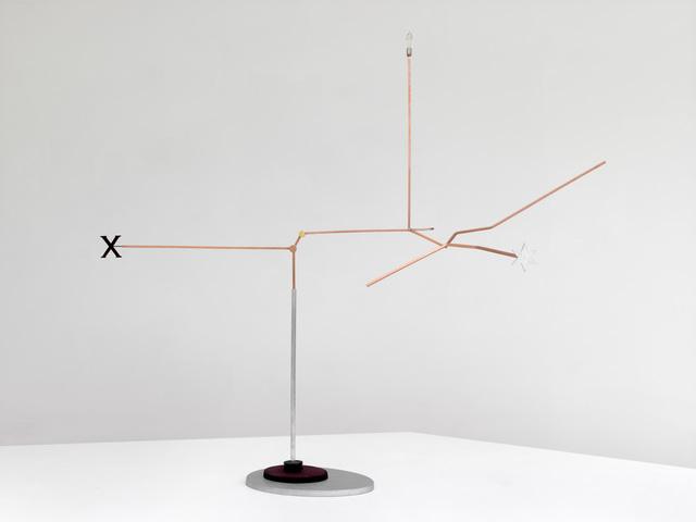 , 'Streuprozess (Fraktal),' 2015, Sies + Höke