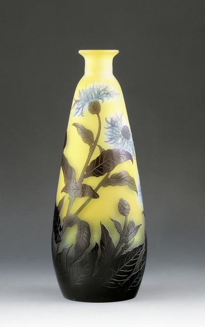 , 'Vase with corn flowers,' France-c. 1910, Galerie Kovacek