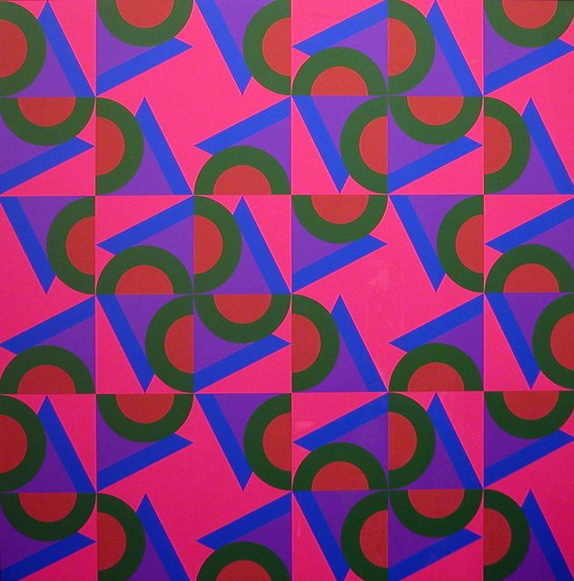 Karl Benjamin, 'V.C. #2', 1984, Painting, Oil on canvas, Louis Stern Fine Arts
