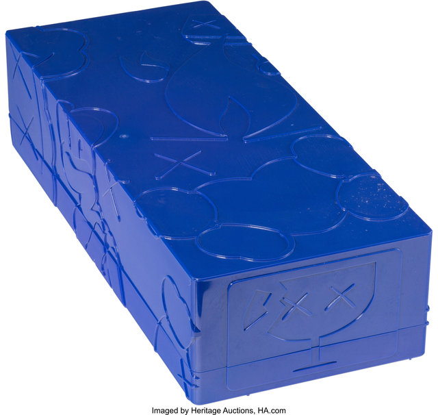 KAWS, 'Bendy (Blue)', 2003, Sculpture, Painted cast vinyl, Heritage Auctions