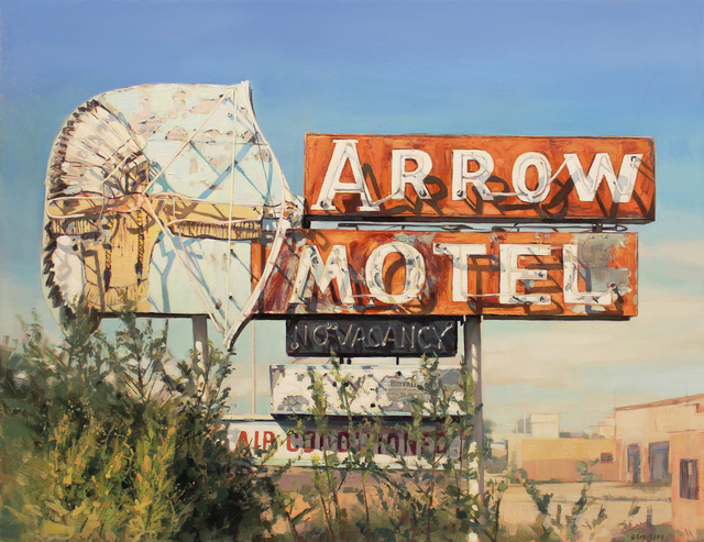 , 'Arrow Motel,' 2015, Sue Greenwood Fine Art