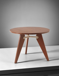 Jean Prouvé, 'Guéridon, designed for the Établissements Solvay, Dombasle,' 1941-1942, Phillips: 20th Century & Contemporary Art & Design Evening Sale