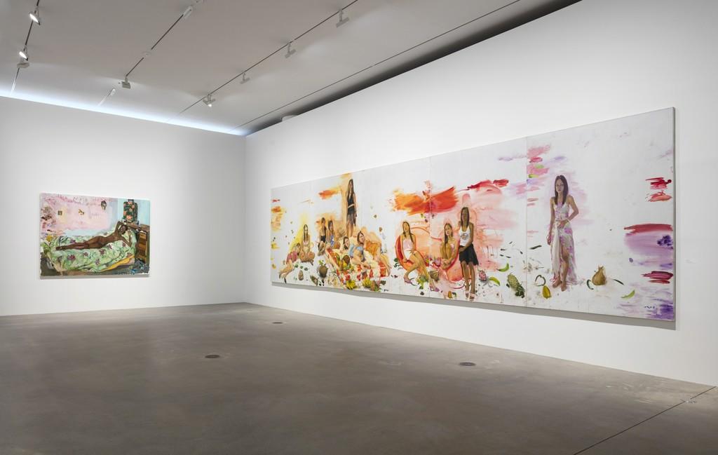 Installation view of exhibition 'Liu Xiaodong: Painting as Shooting' Faurschou Foundation Copenhagen, 2016 Photo by Anders Sune Berg © Faurschou Foundation