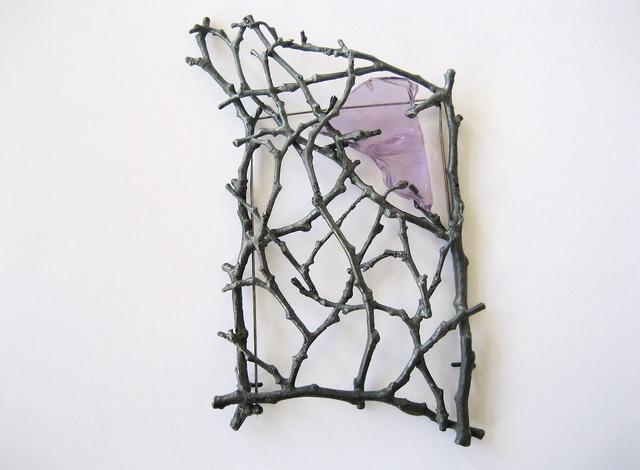 ", '""Mondrian"" brooch,' 2013, Gallery Loupe"