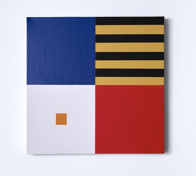 Kaveh Ossia, 'Self control and the orange square', 2019, Alfa Gallery