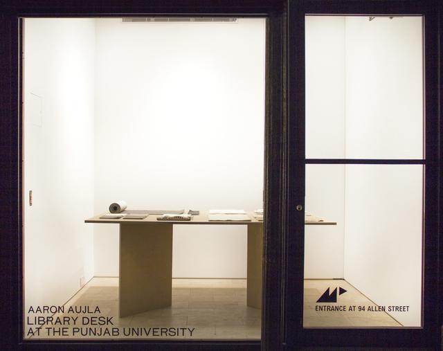 , 'Library Desk at The Punjab University,' 2016, Magenta Plains