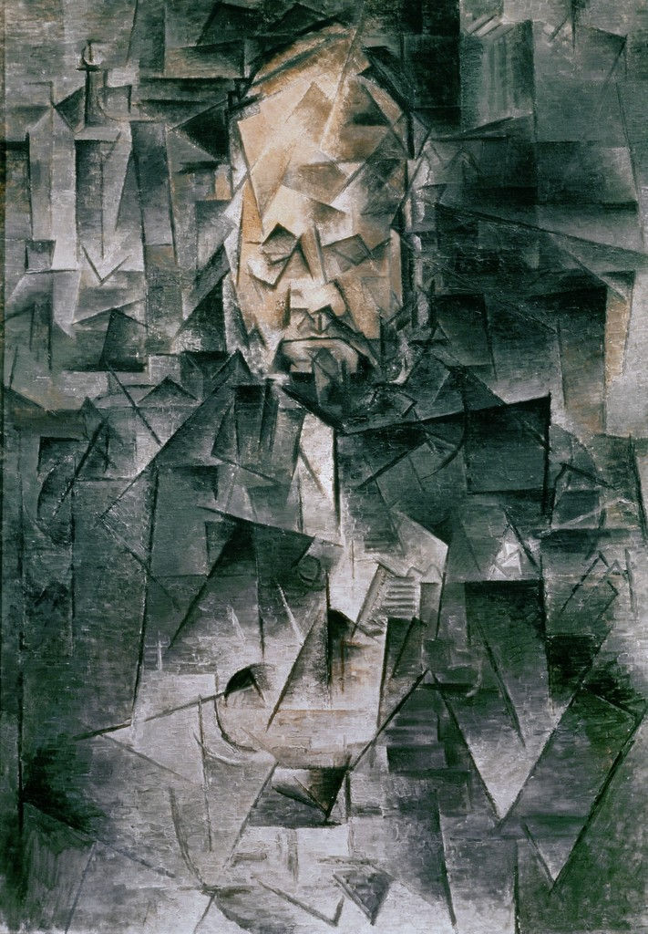 Pablo Picasso, 'Portrait of Art Dealer Ambroise Vollard (1867-1939),' Spring 1910, ARS/Art Resource