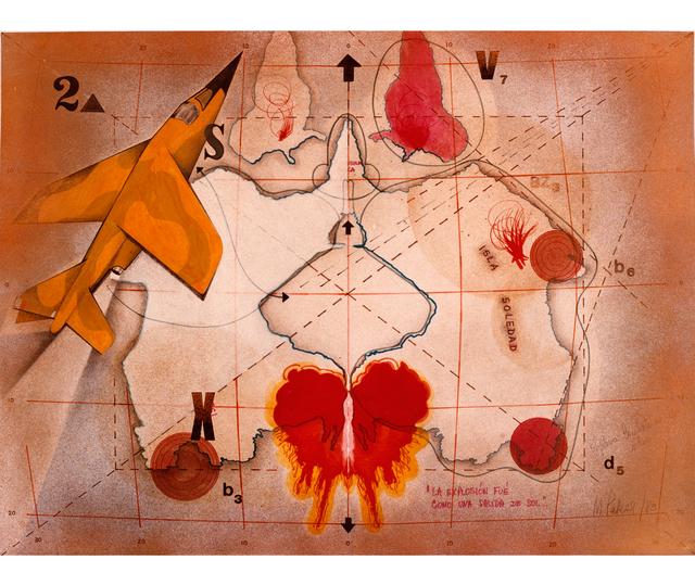 , 'La explosión fue como una salida de sol,' 1983, Herlitzka + Faria