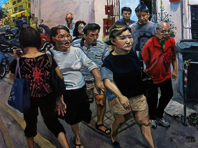 Yeo Tze Yang, 'Pedestrians', 2017, iPreciation
