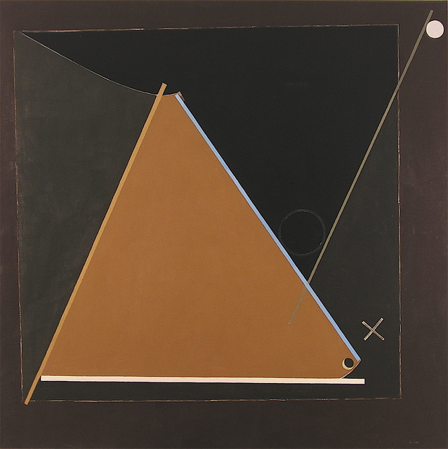 , 'Composition with thin blue line,' 1991, Michel Soskine Inc.