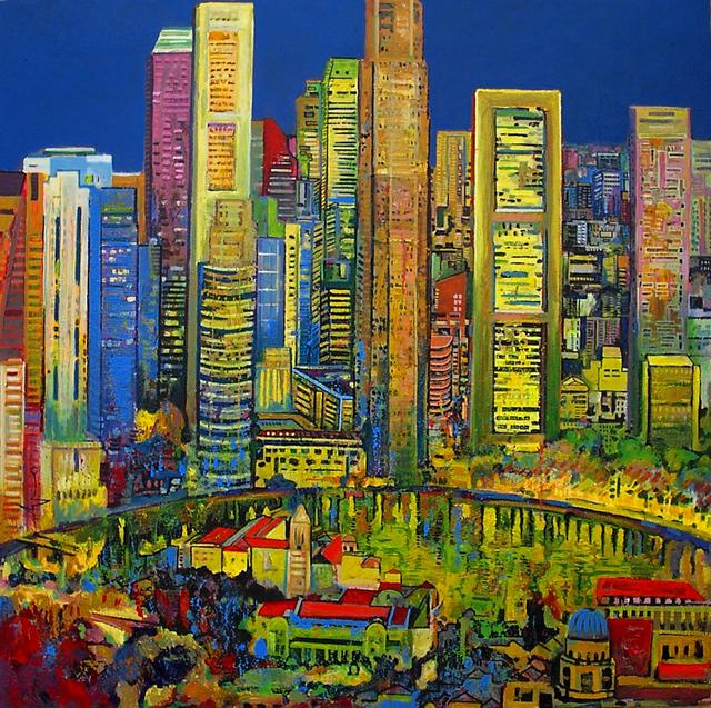 , 'Boat Quay,' 2014, Barnadas Huang