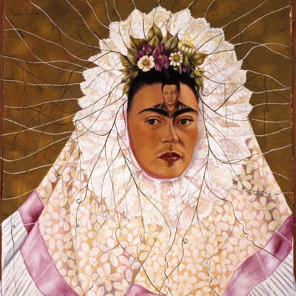 Diego on my mind (Self-portrait as Tehuana)
