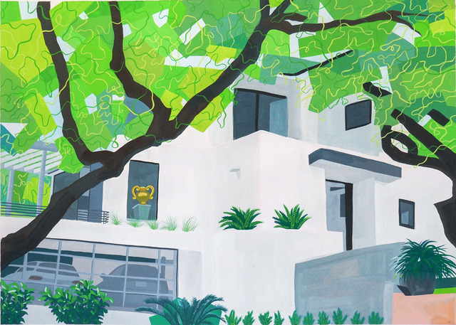 , 'White Mansion,' 2018, Wally Workman Gallery