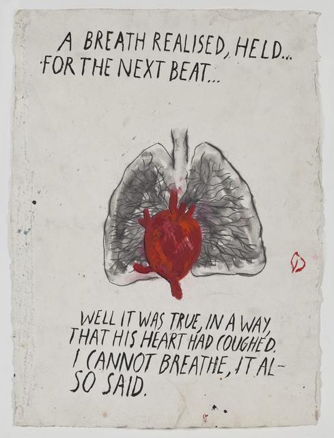 Raymond Pettibon, 'No Title (A breath realised)', 2009, Sadie Coles HQ