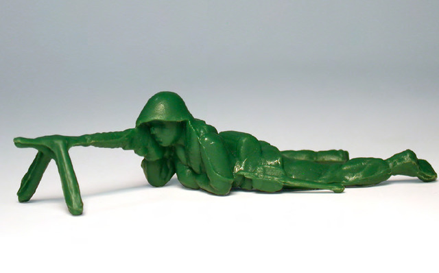 , 'Toy Soldier #5 (Prone Position),' , Mark Moore Fine Art