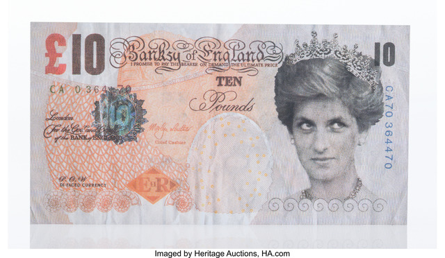 Banksy, 'Di-Faced Tenner', 2004, Heritage Auctions