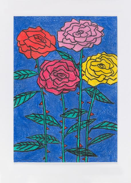 , 'Untitled (night flowers) 21.12.12,' 2012, Ingleby Gallery