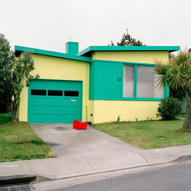 , 'Tango Blue, Daly City, California,' 1991, Robert Koch Gallery