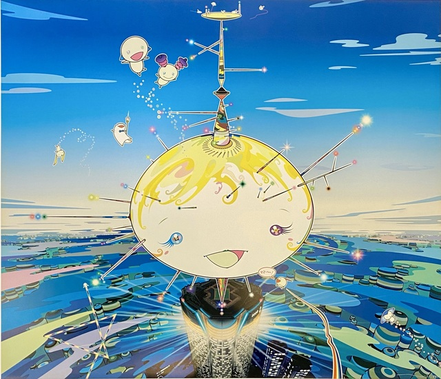 Takashi Murakami, 'Mamu Came from the Sky ', 2003 , Print, Limited edition offset lithograph in colors on smooth wove paper., Off The Wall Gallery