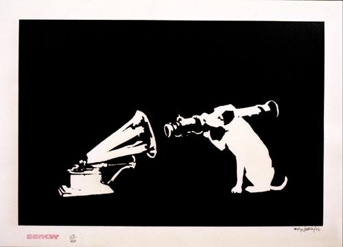 Banksy, 'HMV (Signed Printer's Proof)', 2003, Prescription Art