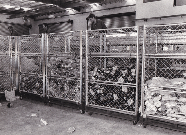 , 'North Shore Recycling Transfer Section,' 1990, Visions