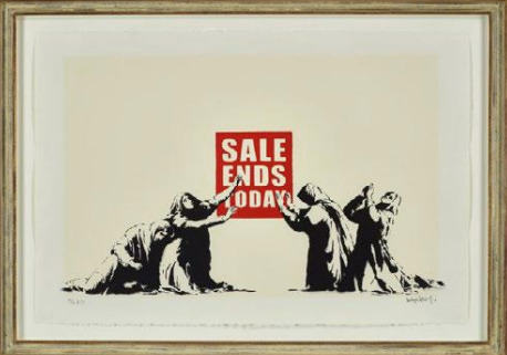 Banksy, 'Sale Ends', 2006, Nine Way Fine Art