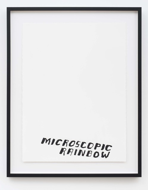 , 'Microscopic Rainbow (from Portfolio A),' 2016, Western Exhibitions